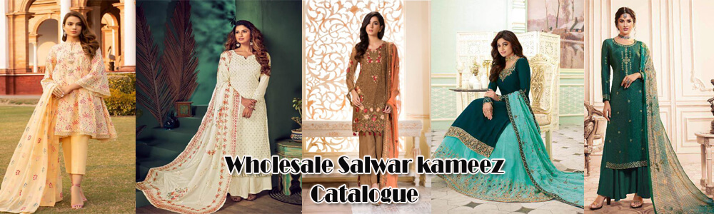 Buy Wholesale Salwar kameez Designs Catalogue | Salwar Suits in Surat at cheap price india