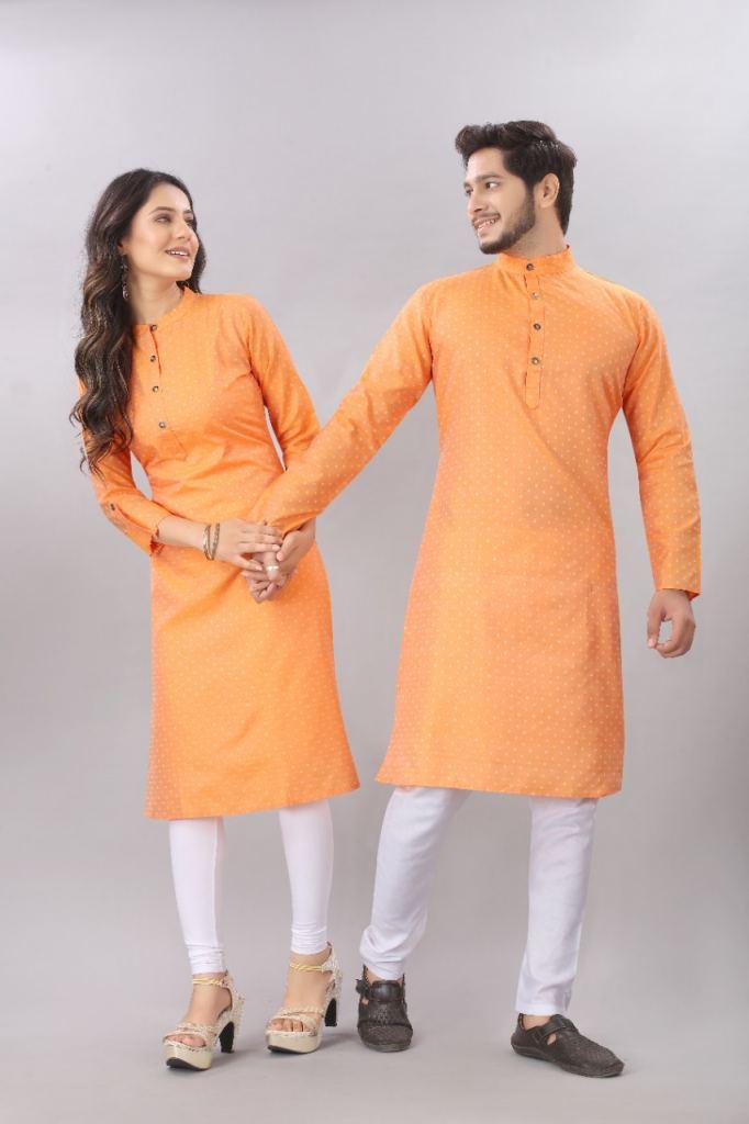 https://www.wholesaletextile.in/product-img/Couple-Matching-Orange-Kurti-k-1623153893.jpeg