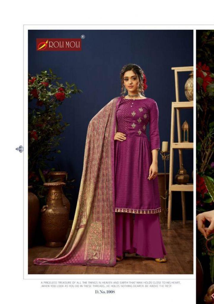 Roli Moli E Zara Designer Dress Material This Catalog Fabric Is Pashmina