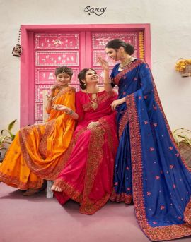 Saroj present Latika sarees  catalogue