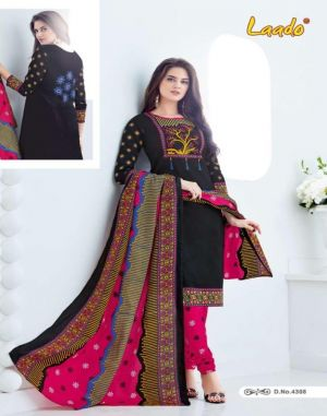 Laado Vol 43 :- Dress Material Catalogue