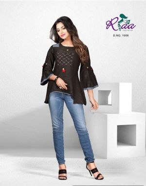 Radha Riaa Weatern tops Set
