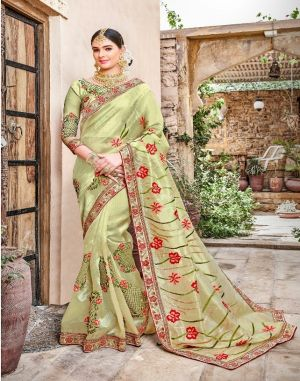 Razia Saroj Wedding saree