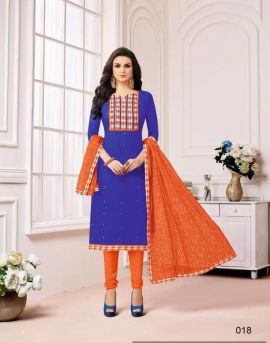 Madhushala Angroop Dress Material