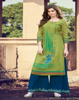 Chambor vol  5  kajree  party wear kurti set