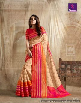 Vanya Silk 3 shangrila  party wear saree catalogue
