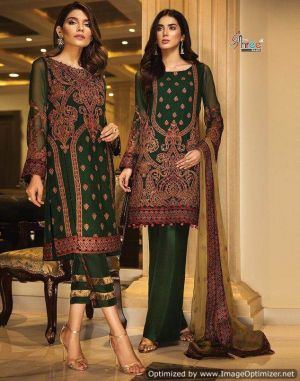 Iznik 2 by shree designer  pakistani suit catalogue