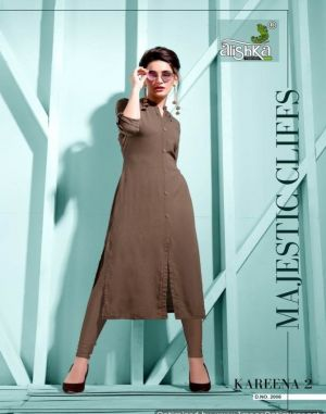 Kareena vol 2 alishka designer kurti  set