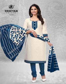 Chief guest vol 13 deeptex cotton dress materials set