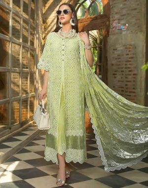 Mariya B Lawn Blockbuster 4 shree