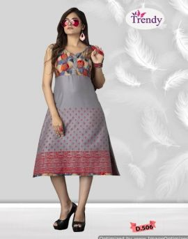 Trendy by raashi causal wear kurtis