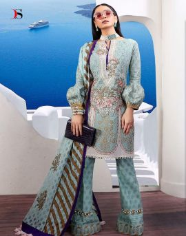 Deepsy suit by muziln premium Pakistani suit catalogue