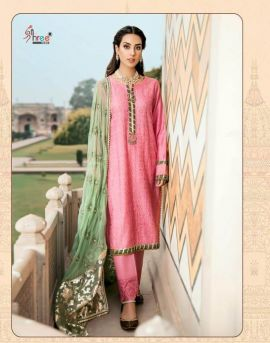 Qalamkar Lawn Collection by shree fabs pakistani salwar suit