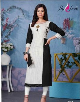 Vogue by fly free printed kurtis catalogue