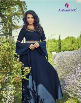 Floss by arihant  long party wear gown catalogue