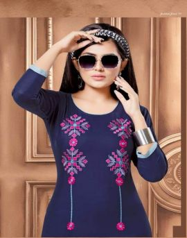 Signature present of kinti fashion designer kurti with palazzo