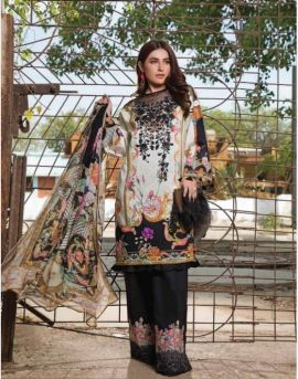 Deepsy Firdous Vol 3 Pure Cotton Pakistani Suits Collection
