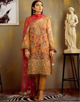 Shraddha Erwann Faux Georgette Pakistani Suits Collection