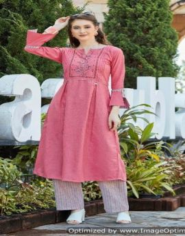 Rangoon present Dream Line Western Style Kurti With Bottom collection.