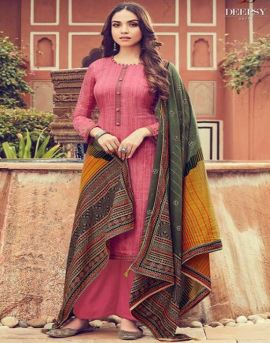 Deepsy Panghat 6 Pure Jam Silk Cotton Material Collection