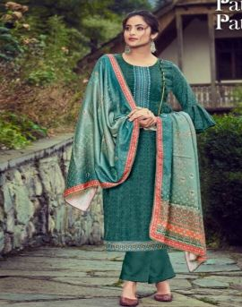 Alok by Patan Patola Pure Wool Pashmina Designer Dress Material collection.