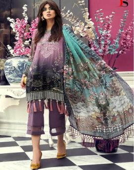 Deepsy by M Print vol 19 Pure Cotton Pakistani Suits Collection