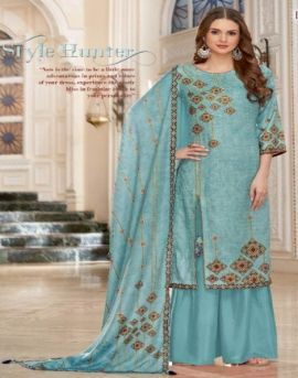 Alok by Bhoomiti Pure Pashmina Designer Dress Material