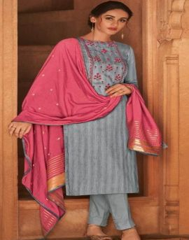 Deepsy by Pari Pure Jam Silk Cotton Designer Dress Material collection.