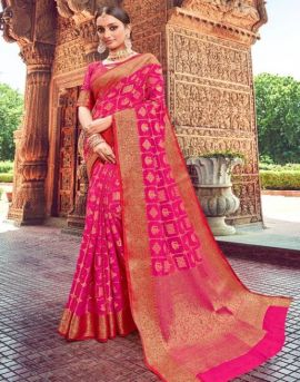 Shangrila by Alankaar Silk Weaving Zari Silk Festive Wear Saree