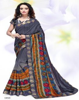 kodas present Khushboo Running Wear Printed Sarees catalogue