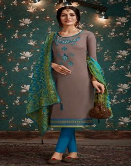 Kessi by Asopalav vol 12 Jam Silk Embroidered Designer Dress Material