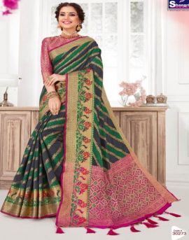 Shangrila by Jeevika Silk vol 3 Festive Wear Silk Saree Collection