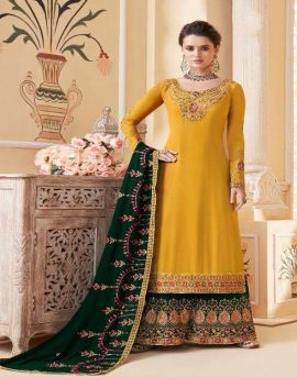 Aashirwad by Suhani Embroidered Salwar Suits catalogue