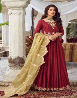 R9  by Sadaf Heavy Faux Georgette Pakistani Salwar Suit Collection