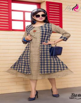 Fly Free by Swag Cotton Kurti With Koti catalogue