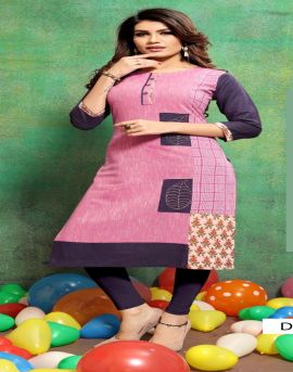 FT by Pankudhi vol 3 Heavy Cotton Printed Kurtis collection.