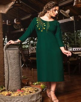 Shubh nx Present Poshaak Casual Wear Kurtis Catalogue