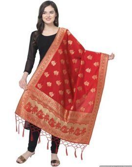 Shree Hit Design Taffeta Dupatta Collection