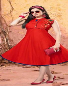 Kinti  by Peppermint Rayon Short Kurti Collection