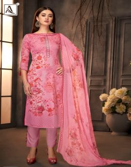 Alok present Paridhi dress material catalogue