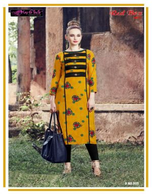 Red Box Vol 2  Kay Girliee  casual wear kurti set