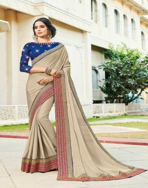 Saroj Manjaree wedding wear saree set