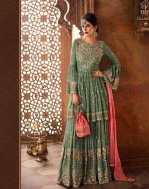 Glamour 59 mohini fashion pakistani salwar kameez set