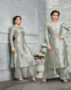 Tucute 648 Series by karma fashionparty wear kurti with palazzo