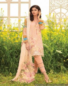Rangreza Lawn vol 19 by saaniya cotton salwar suit