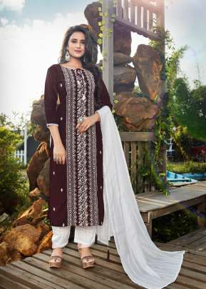 4Colours presents  Lakhnavi Designer  Kurti collection