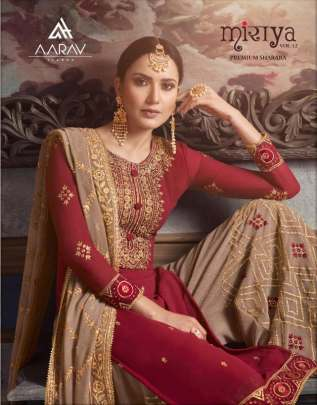 AARAV MIRAYA 12 GEORGETTE EMBROIDERED