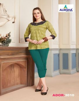 Ador vol 3  by alishka fashion western wear top collection