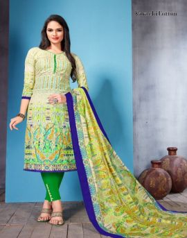 Karachi : Aafiya Dress Materials Catalogue