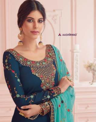 Aashirwad present  Nirva party wear collection